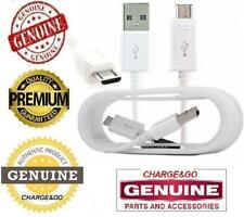 Samsung Galaxy S5 Micro USB FAST 2AMP Charger Cable & Data Cable 1.5M Metre