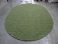 8'  x 10' Oval Green Open Edge rug,reduced price 1172555538 BRD315A-8OV