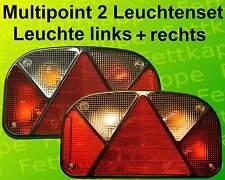 Aspöck Multipoint 2 Rückleuchten Rücklichter Anhängerleuchten mit RFS