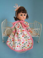 "Vintage 1957 Vogue 8"" GINNY Doll ML Walker in Tagged Housecoat"