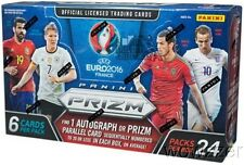 2016 Panini UEFA EURO PRIZM Soccer HUGE Factory Sealed 24 Pack HOBBY Box !