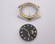 Seiko 7N43-6B2W watch parts Dial,Case,Hands Crown for parts repair