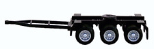 TRIPLE AXLE DOLLY Road Train Converter 95mm long HO 1/87 Scale HERPA 5399