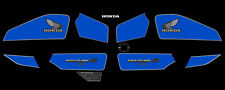 "84-85 Honda CB750SC Nighthawk 750 ""S"" - Complete Decal Set - Blue/Blk"