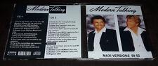 MODERN TALKING - MAXI VERSIONS 98-02 (2 CDs) FAN EDITION (Dieter Bohlen)