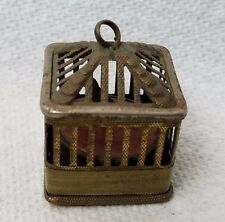 Antique BIRD CAGE TAPE MEASURE ; c1900's,  RaRe and CUTE