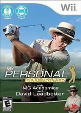 Wii My Personal Golf Trainer with David Leadbetter (PAL), Very Good Video Games