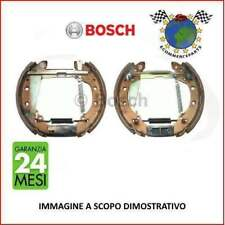 #87672 Kit ganasce freno Bosch PEUGEOT 206 2 volumi /Coda spiovente Benzina 19