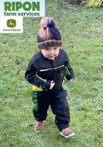 Genuine John Deere Deluxe Childrens Kids Overalls Boilersuit - MCDW1718