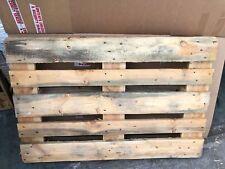 EURO PALLET CON FRANCOBOLLI Fuoco Legna Da Ardere recinzione legno secco depurato Fire Pit 1200x 800mm