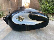 Ducati Bronco Tank 125 160 250 350 Vintage Bevel Single cafe