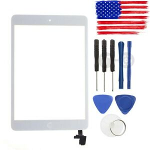 White / Black Touch Screen Glass DigitizerFor iPad Mini A1432 A1454 A1455 A1489