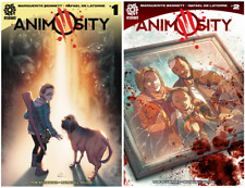 Animosity #1 and 2 FIRST PRINTS! NM+ OR BETTER!! Aftershock Comics
