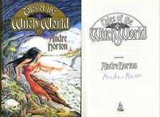 Grand Master Andre Norton SIGNED AUTOGRAPHED Tales of the Witch World HC 1st Ed