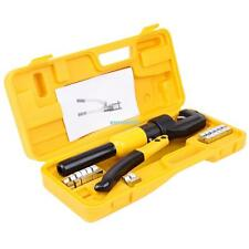 10 Ton Hydraulic Crimper Cable Wire Crimping Force Tool Kit  4mm-70mm 8 Die