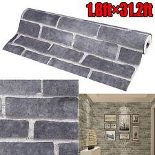 3D Wallpaper Bedroom Living Mural Roll Modern Stone Brick Wall Background Home