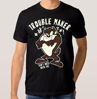 Taz 'Trouble Maker' Art T-shirt, Tasmanian Devil Looney Tunes Shirt, All Sizes