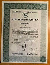 Naarden International N.V. - Naarden