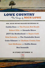 LOWE COUNTRY POSTER, SONGS OF NICK LOWE (A26)