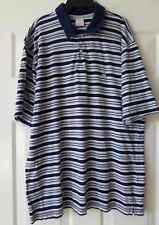 Brook Brothers XL Polo Shirt Stripes Short Sleeves EUC