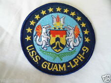 PATCH US NAVY USN LPH-9 USS GUAM IWO JIMA-CLASS AMPHIBIOUS ASSAULT SHIP