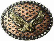 Nocona Men's Crumrine Eagle Hatch Back Buckle