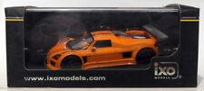 Modellini statici auto sportive arancione scala 1:43