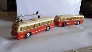 EHEIM - Trolleybus mit Anhanger - Oberleitungsbus - H0