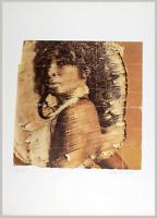 """Mimmo ROTELLA - """"Senza titolo"""", 1975 - Litografia, 50 x 70 cm"""