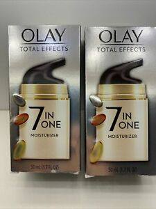 Lot Of 2 Olay Total Effects 7 in 1  Moisturizer 1.7 oz. New!!!!