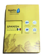 Rosetta Stone: Complete Course Spanish (Latin America) for 12 months-Sealed. New