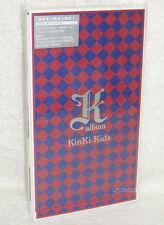 J-POP KinKi Kids K Album Taiwan Ltd CD+DVD+32P BOX