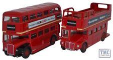 76SET26 Oxford Diecast Twin Bus Set RT/RM 1/76 Scale OO Gauge