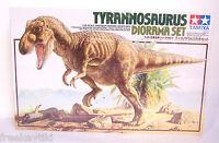 Tamiya Tyrannosaurus Rex T-Rex Dinosaur Diorama Set Plastic Model Kit 1/35 scale