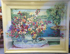 Bouquet By The Lake,  Artist Enhanced, Limited Ed. by Sue Tushingham McNary