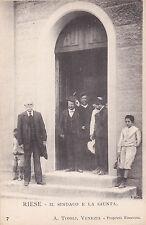 * RIESE - Il Sindaco e la Giunta - A.Tivoli, Venezia 1900