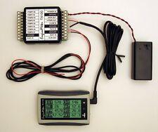 EngineMeter Engine&Fuel Monitor System:tachometer RPM,hourmeter,EGT,CHT,gas,etc.