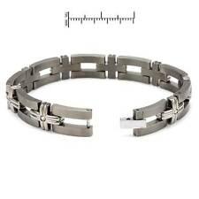 Brand New Gentlemens Bracelet With 0.64ctw Genuine Diamonds Retails $1,750