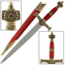 King Solomon Medieval Wise King Religous Dagger Red Replica
