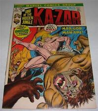 ASTONISHING TALES #11 (Marvel 1972) Origin of KA-ZAR & ZABU! Gil Kane art (VF-)
