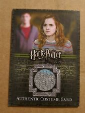 Harry Potter Order of The Phoenix Emma Watson Hermione Granger Costume Card Ci1