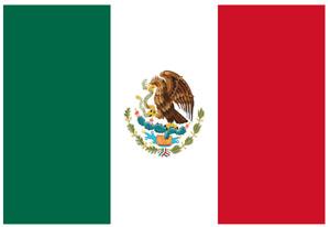 Flag of Mexico 12.5 x 18 Inch Garden Flag