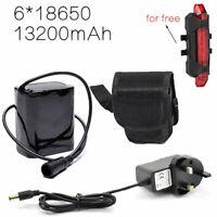 2x 8.4V 5.5mm Port USB Charging Cable for Bike Light Li-ion Batteries Pack 90cm