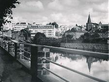 VIRE c. 1950 - Vue sur la Ville depuis La Vire Calvados - Div 7882