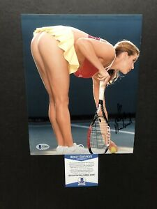 Ashley Harkleroad autographed signed 8x10 photo Beckett BAS COA Tennis Sexy Hot