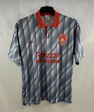 More details for rotherham united away football shirt 1988/89 adults medium bukta d170