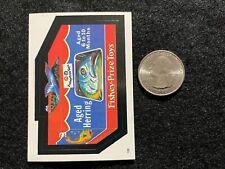 1982 Topps Wacky Packages Album Mini Minis Sticker Fishey Prize Toys Herring #82