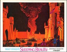 SLEEPING BEAUTY original 11x14 lobby card DISNEY movie poster