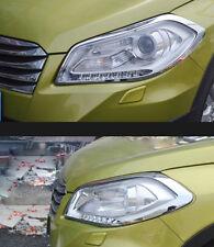 For Suzuki SX4 S-Cross Crossover 2013-2016 Front Head Light Lamp Cover Trim