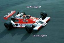 Bruno Giacomelli McLaren M26 Italian Grand Prix 1978 Photograph